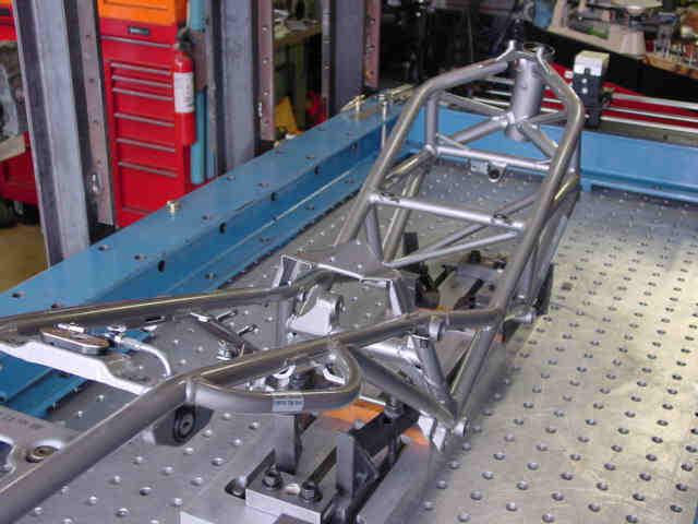 Motorcycle Frame Straightening Repair