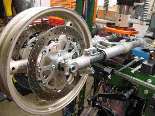 Motorcycle Fork Tube Repair